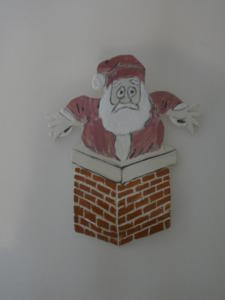 Repose cuillère père Noël